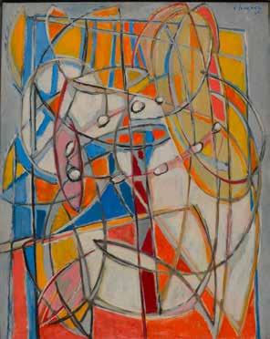 Gustave Singier Le Collier blanc 1946 Huile sur toile 92 x 73cm Coll. part., Suisse © ADAGP, Paris2018
