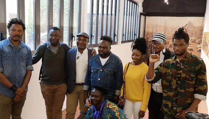 Kinshasa Chroniques au MIAM - Sète - Les artistes présents lors du vernissage