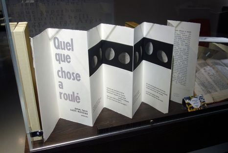 Quelque chose a roulé, James Sacré et Judith Rothchild - Exposition Verdigris- le noir en filigrane au musée Médard Lunel