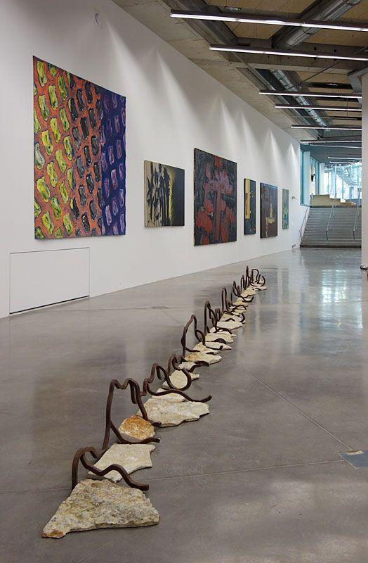 Bernard Pagès, La tortille, 1991 - Une histoire de la collection du Fonds régional d'art contemporain - Vue de l'exposition au FRAC PACA