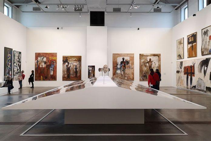 Kacimi 1993-2003, une transition africaine au Mucem - Vue de l'exposition