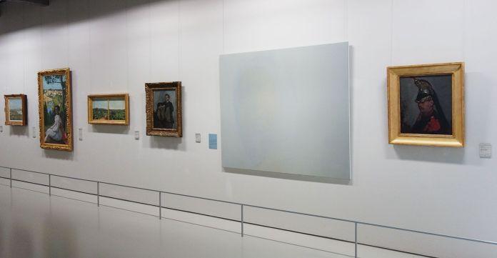 Le rêve de la fileuse - trois collections en dialogue au Musée Fabre - Luc Andrié, ON, veine, 2015
