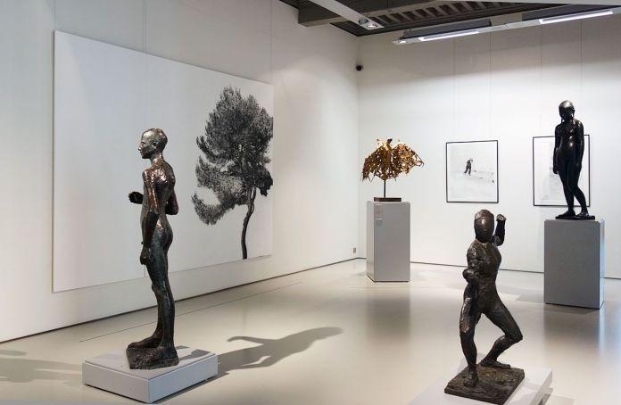 Le rêve de la fileuse - trois collections en dialogue au Musée Fabre - Salle 45 - Salle Richier