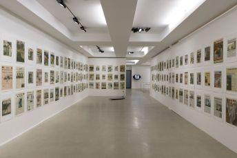 Picture Industry - Luma Arles 2018 - © Walead Beshty - Hans Patr Feldmann, 9-12 Front Page, 2001 - les Forges, Luma Arles, Parc des Ateliers, Arles, France, 2018. © Lionel Roux.