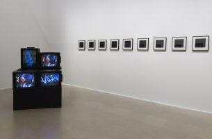 Picture Industry - Luma Arles - Deuxième partie - Gretchen Bender, Wild Dead, 1984 et Glenn Ligon, Red Portofolio, 1993 © Lionel Roux.