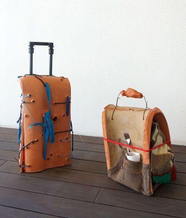 Rodolphe Huguet - Bon Vent au FRAC PACA - Maisons-valises