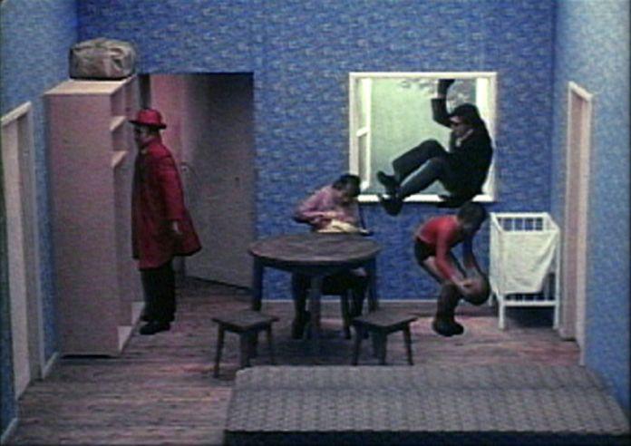 Zbigniew Rybczynski, Tango, 1980. Film 35 mm, couleur, son, 8'16. SMFF Se-Ma-For Lodz, Pologne © Zbig Rybczynski / Zbig Vision