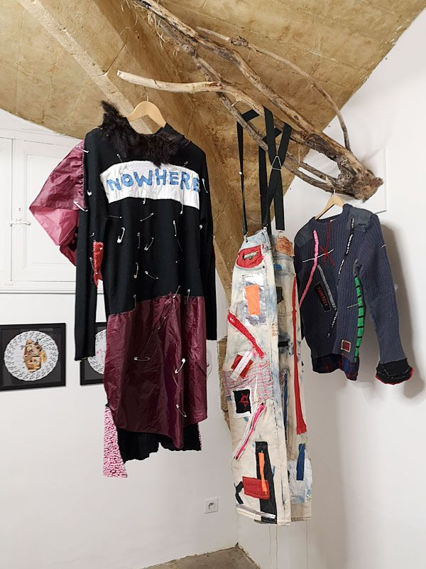 Denis Brun - Basse couture - Collection Nowhere - Nowhere à la Numéro 5 Galerie - Montpellier