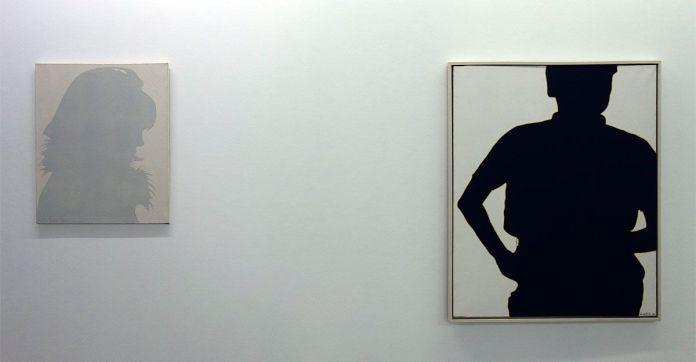 Lourdes Castro - Sombra projectada de Sabine Moniry et René Bertolot, 1964 - Ombres et compagnie au MRAC à Sérignan