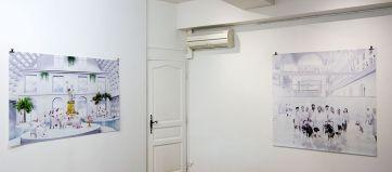 Muriel Bordier – White Cure à la Galerie Annie Gabrielli - Vue de l'exposition