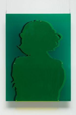 Portrait de Milvia Maglioni, 1966. Plexiglas, 80 × 60 × 6 cm. Pièce unique. Collection Dr Rui Victorino, Lisbonne