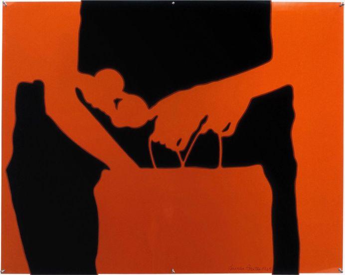Sombras projectadas bolsas e laranjas, 1965