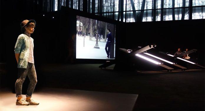 Tomaki Suzuli, Hikage, 2017 et Faycal Baghriche, Le sens de la marche, 2002 - On danse au Mucem