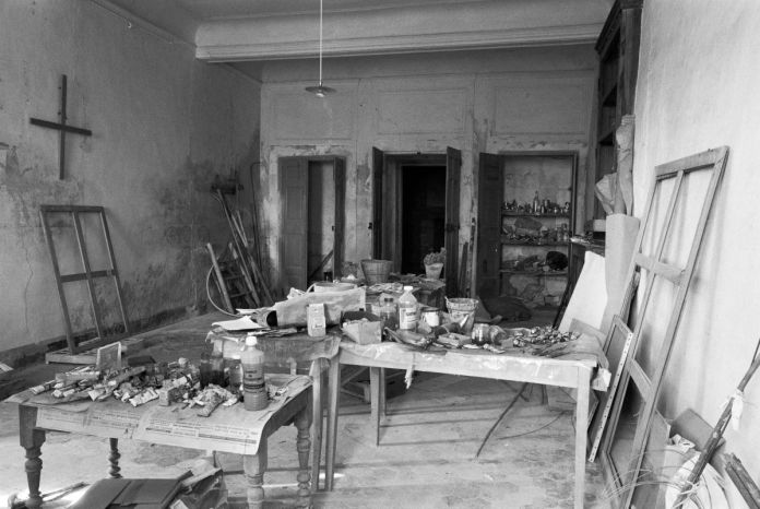 Jérôme de Staël - Maison de Dora Maar - Atelier
