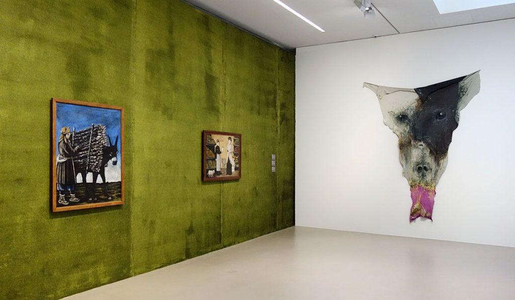 Niko Pirosmani et Raphaela Vogel à la Fondation Vincent van Gogh Arles - Vue de l'exposition