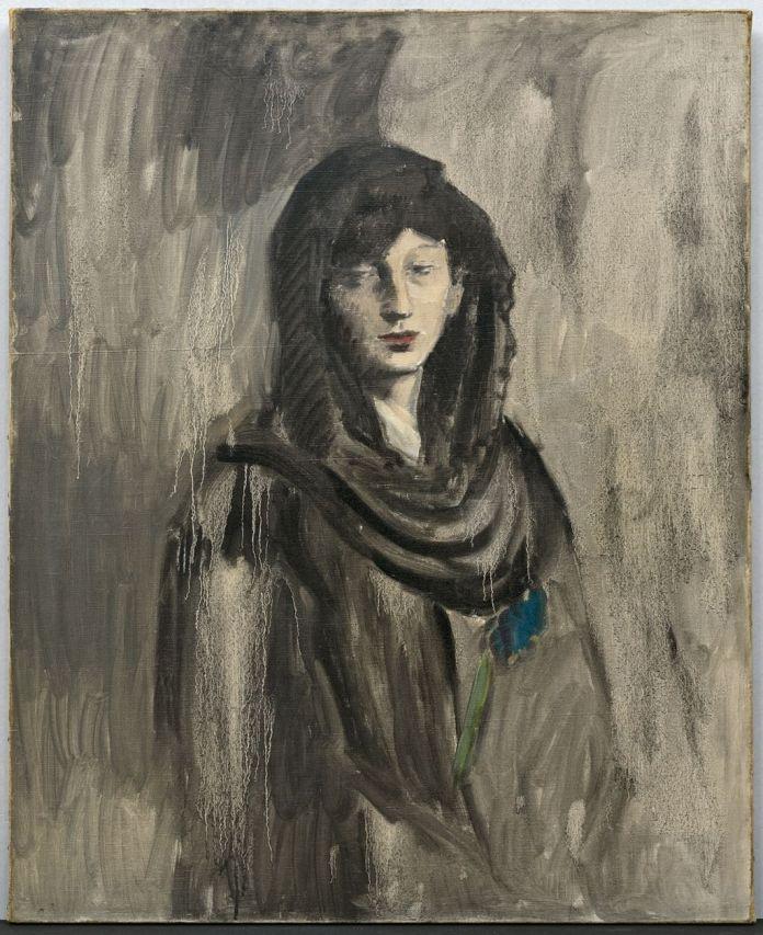 Pablo Picasso (1881-1973), Fernande à la mantille noire, Paris, vers 1905, huile sur toile, 100 x 81 cm Solomon R. Guggenheim Museum, New York, Thannhauser Collection, legs Hilde Thannhauser, 91.3914 © Succession Picasso 2019