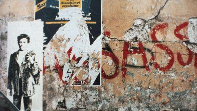 Paris,1978 Rimbaud © Ernest Pignon-Ernest