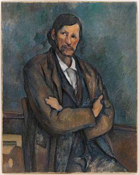 Paul Cézanne, Homme aux bras croisés, vers 1899, Huile sur toile, 92 x 72,7 cm Solomon R. Guggenheim Museum, New York, 54.1387