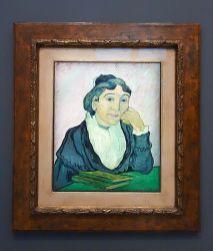 Vincent van Gogh, L'Arlésienne (Madame Ginoux), Saint-Rémy-de-Provence, février 1890