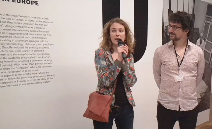Isabelle Marquette et Baptiste Brun, commissaires de l'exposition Jean Dubuffet - Un barbare en Europe au Mucem