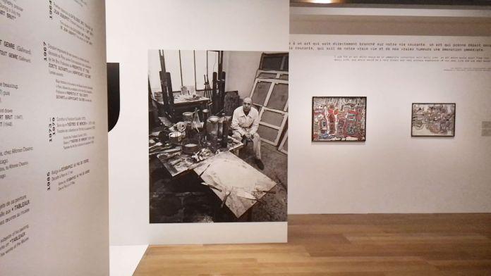 Jean Dubuffet - Un barbare en Europe au Mucem - 1 - Célébration de l'homme du commun - Des sites grouillants de vie