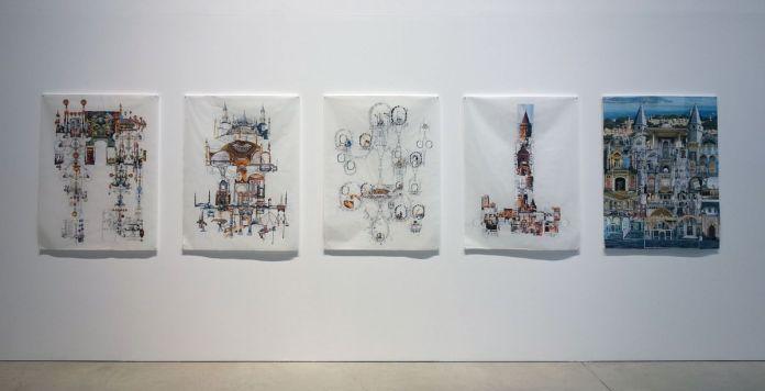 Ana Peisjalba - Techno-tourisme à Istanbul 2018 - A School of Schools – Luma Arles - Vue de l'exposition - Photo En revenant de l'expo !