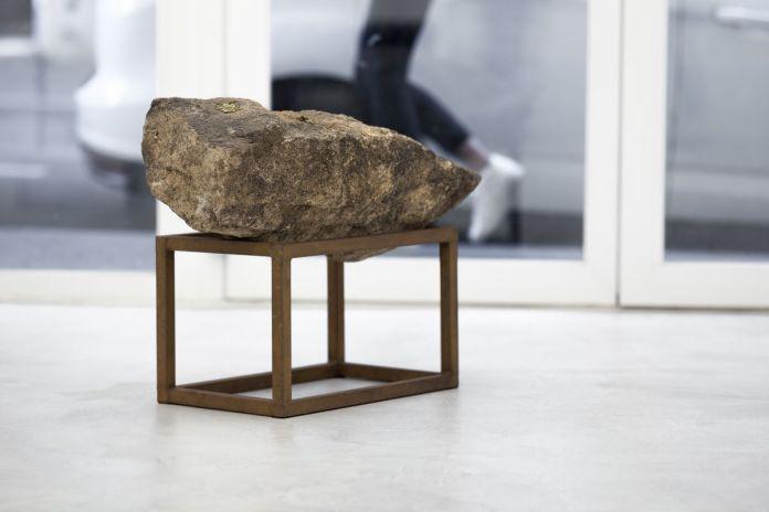 Bruno d'Abrigeon - Palpitations, 1996 - Primitive future à la Galerie de la Scep – Marseille - Photo © Nassimo Berthommé