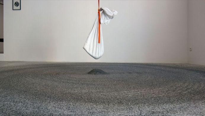 Pierre Malphettes - Grains de sable spiralés, 2019 – L'horizon des particules à Vidéochroniques