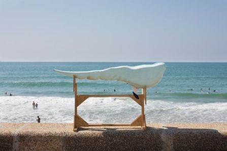 Sylvain Grout & Yann Mazeas - Surf - 100 artistes dans la ville