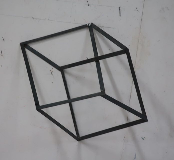 Tjeerd Alkema - Cube de Necker, 2012 - Photo T.Alkema