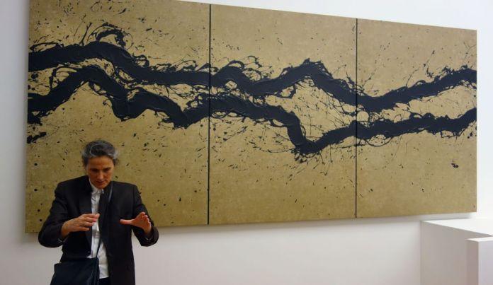 Fabienne Verdier - Intuition du paysage sonore - Sur les terres de Cezanne au Musée Granet - Etage Palier