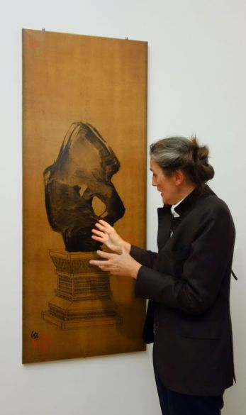 Fabienne Verdier - Pierre de méditation II, 1994 - Les années de formation en Chine - Sur les terres de Cezanne au Musée Granet - RDC Salle 1 1