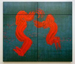 Fabienne Verdier - Saint Christophe traversant les eaux II, 2011 - Les maîtres flamands - Sur les terres de Cezanne au Musée Granet - RDC Salle 5