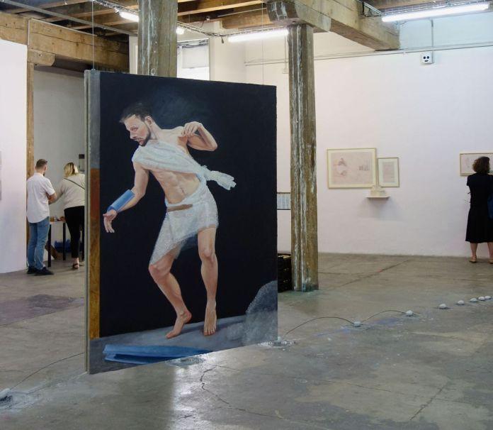 Jean-Charles Bureau - Necessité du silence, 2019 - Ébauche du silence – HLM Hors Les Murs, Marseille – Photo En revenant de l'expo!