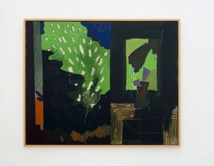 Vincent Bioulès - Dans mon bureau, 1965 - Chemins de traverse au Musée Fabre