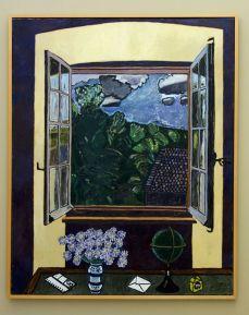 Vincent Bioulès - Fenêtre à la mappedonde, 1979-1980 - Chemins de traverse au Musée Fabre
