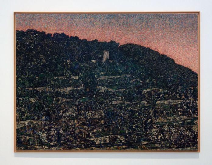 Vincent Bioulès - Méaulx, 2010 - Chemins de traverse - Le paysage, cette joie fondatrice au Musée Fabre