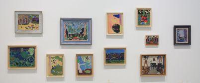 Vincent Bioulès - Pochades milieu des années 1960 - Chemins de traverse - Les dernières avant-gardes au Musée Fabre