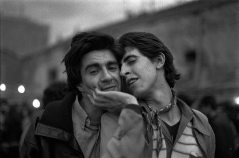 Alberto García-Alix, Eduardo y Lirio, 1980