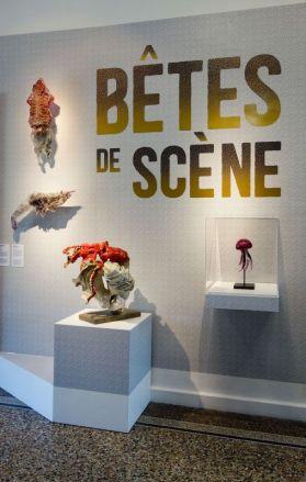 Jean-Marie Appriou - Cuttlefish et Shrimp, 2018 - Bachelot & Caron - Pieuvre archives, 2019 - Bêtes de scène à la Villa Datris - Cabinets de curiosité