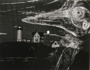 Minor White Wood and Lighthouse 1969 Tirage sur papier aux sels d'argent © Trustees of Princeton University