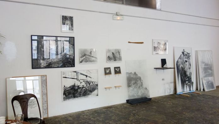 Nicolas Daubanes - Atelier ouvert pour Pareidolie 2019