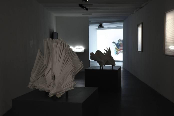 Paul Destieu - vue de l'exposition à Art-cade Galerie des grands bains douches, Marseille - Photos Luce Moreau