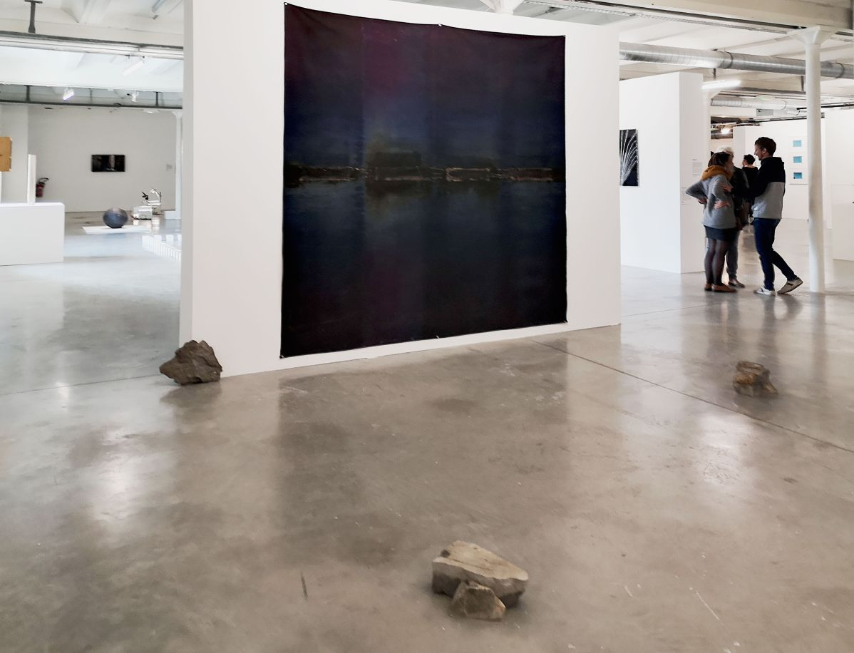 Delphine Wibaux - Témoin souple, mémoire émergente, 2013-2019 - Par hasard à la Friche la Belle de Mai - Marseille - Vue de l'exposition