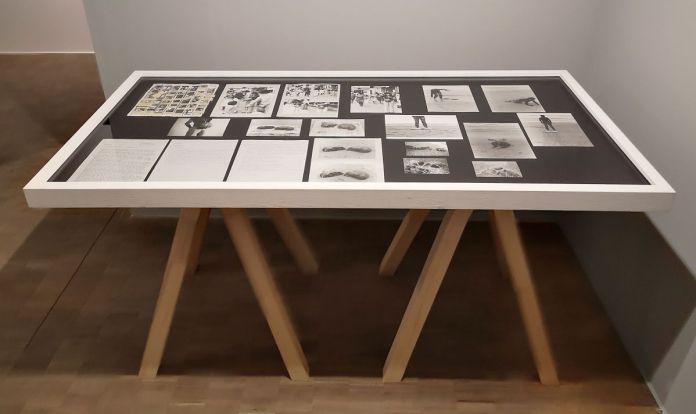 VALIE EXPORT - Dipsplay Case #5, 2011 Homometer- Expanded Arts au Pavillon Populaire Montpellier