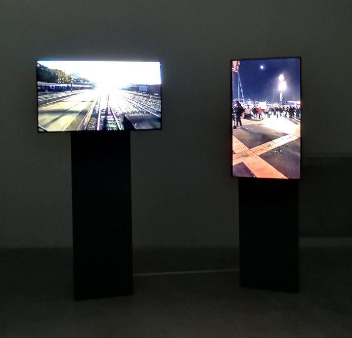 Brut TV - Marche de la colère, 2018 et NRK - Bergen à Oslo, 2009 - Les Instants Vidéo à la Friche