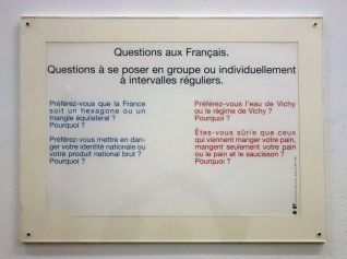 Eric Baudelaire - Après O pour O mon pays ! - «Faire avec» au CRAC Occitanie – Sète