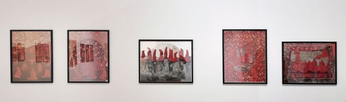 Mohsin Taasha, série « Tavalod-e dobareh-ye sorkh » [La renaissance du rouge], Kaboul, 2017