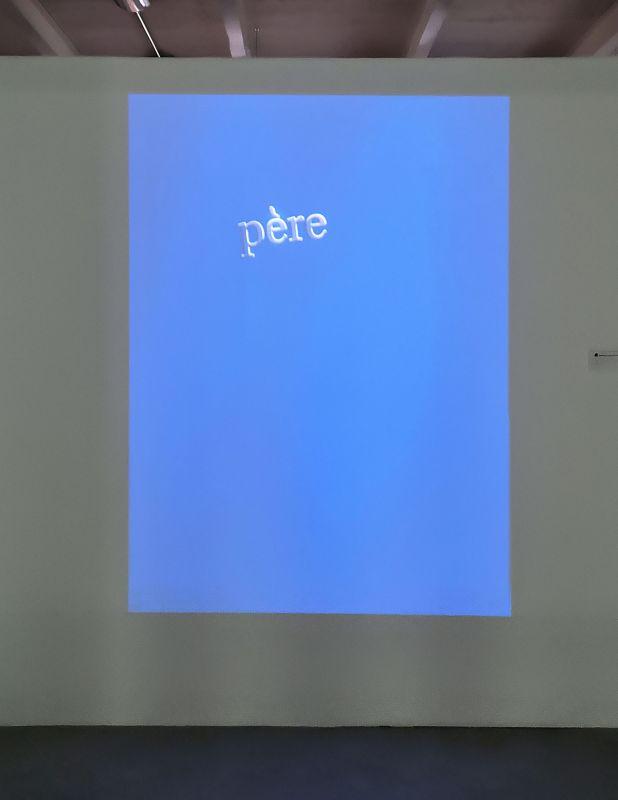 Robert Cahen - Tombe (avec les mots), 2000 - Les Instants Vidéo à la Friche