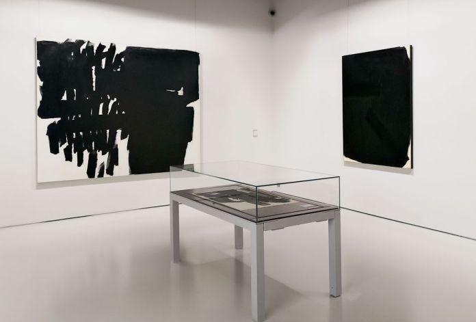 Soulages à Montpellier au Musée Fabre - Salle 44